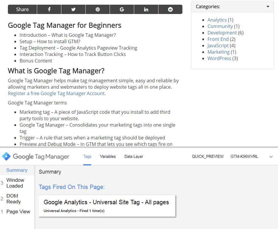Google Tag Assistant-Chrome Extension Screenshot