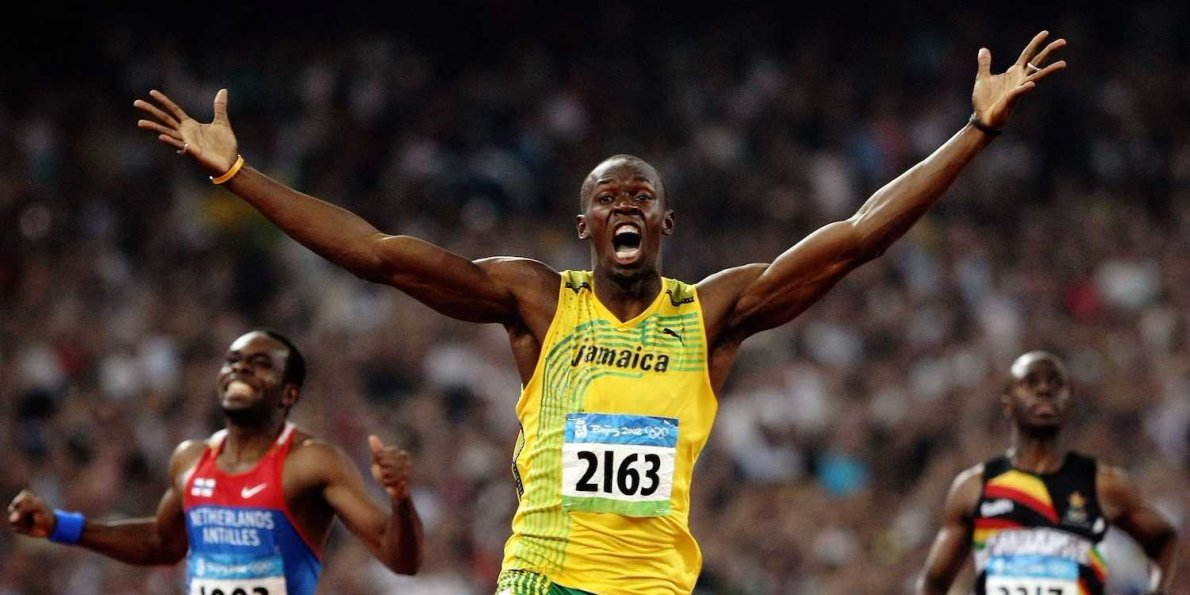 Usain Bolts Key to Winning