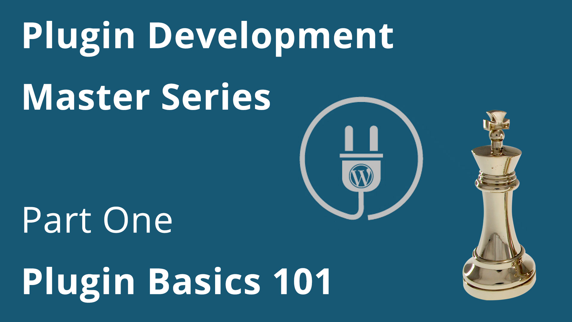 Plugin Development Pt. One – Introduction