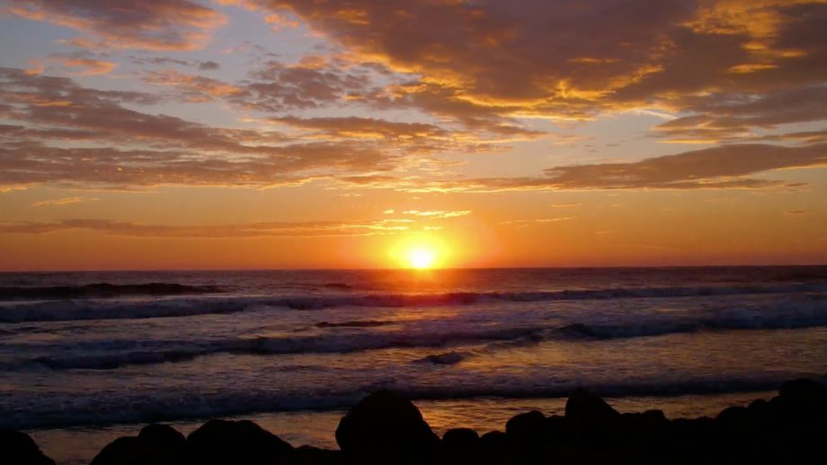 Nicaragua Ocean Sunset Time Lapse