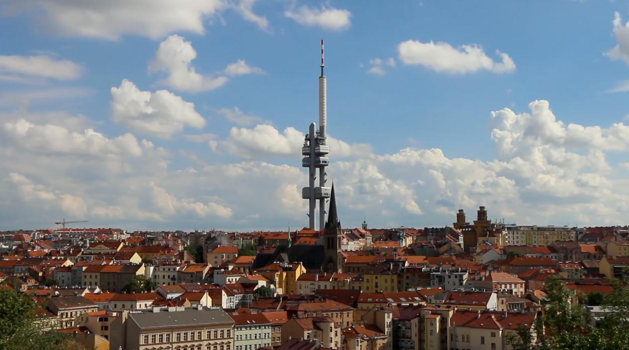 Prague Czech Republic Time Lapse