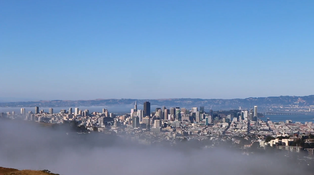 San Francisco Fog Time Lapse