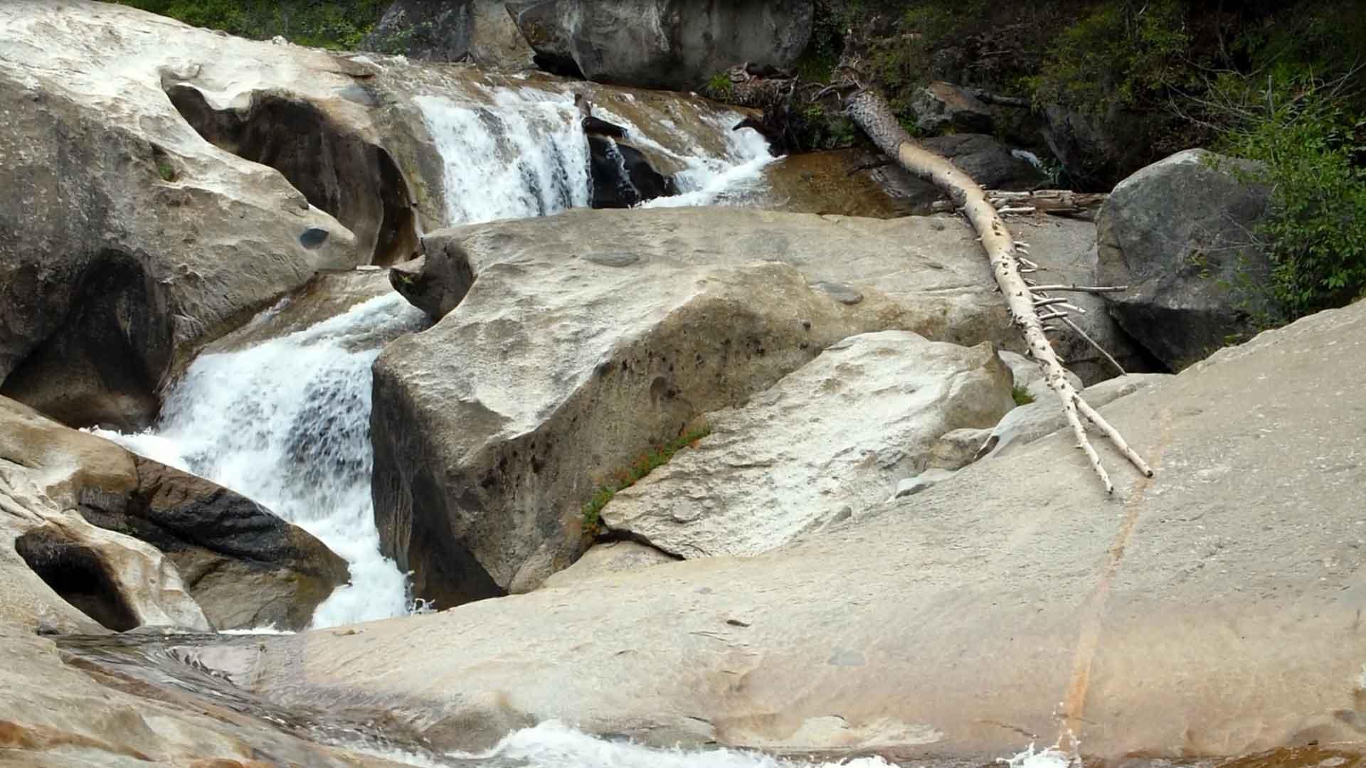Yosemite Waterfall River
