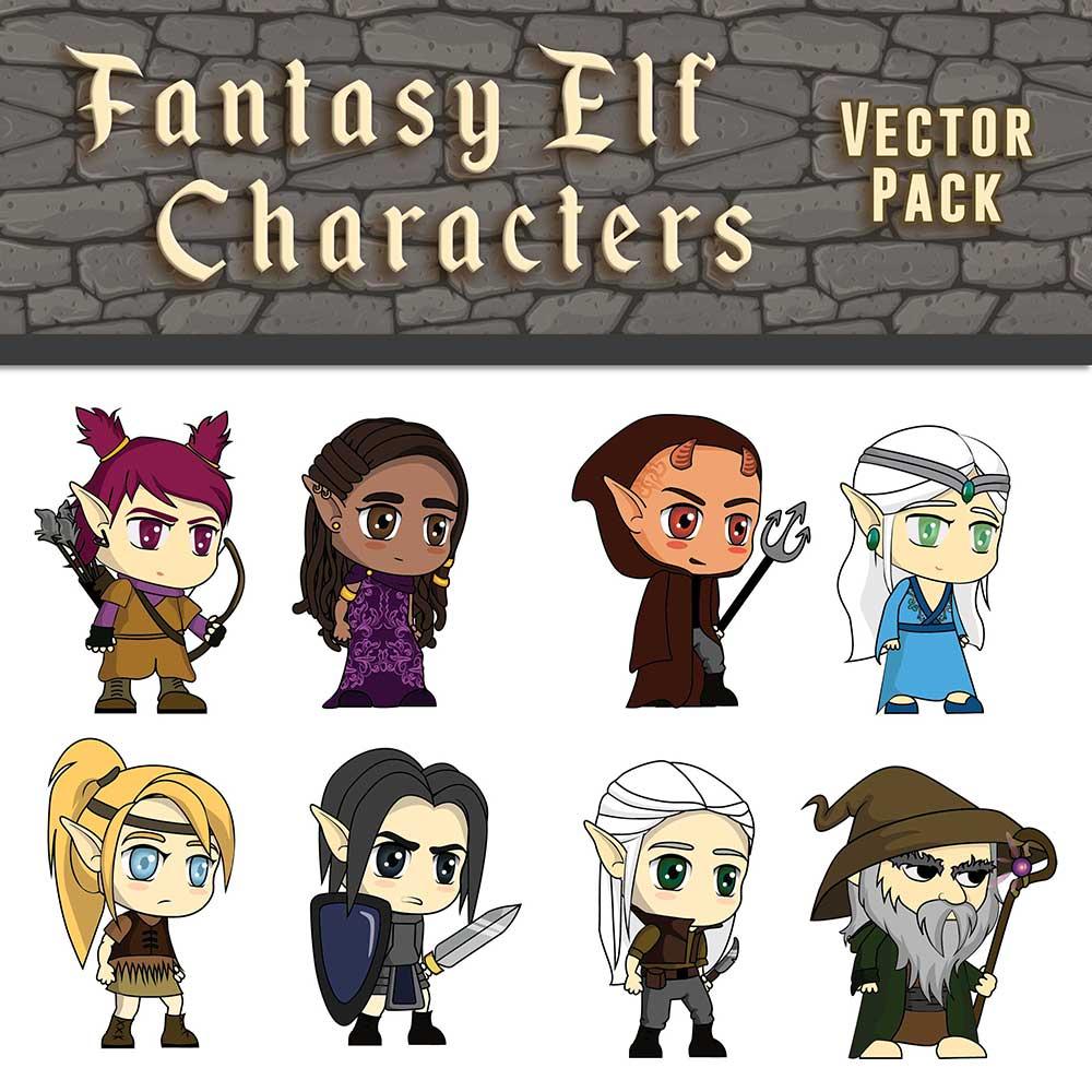 Fantasy Elf Characters